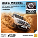 Renault Duster AWD trailer released, launch on September 24th