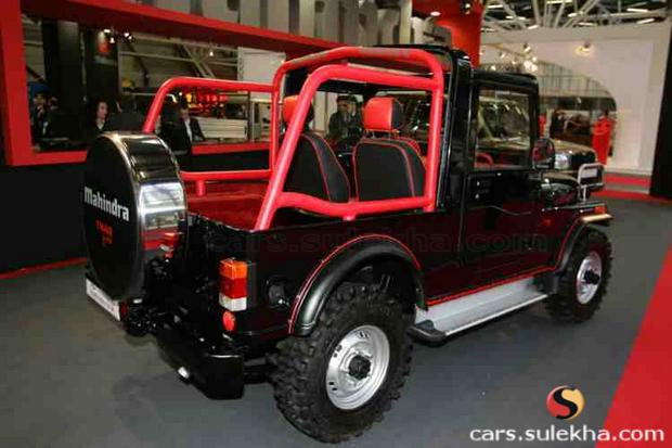 Mahindra Thar Car Photo Image Pictures