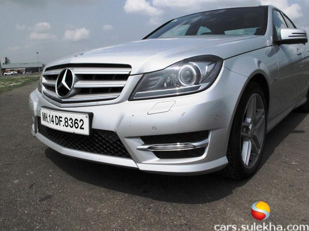 mercedes benz c class 2012 price in india