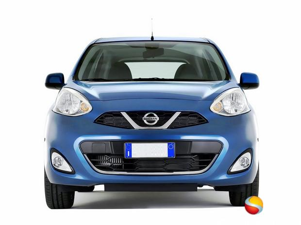 Nissan Micra facelift 2013