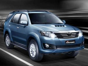 Toyota New Fortuner 4x2 MT Specifications