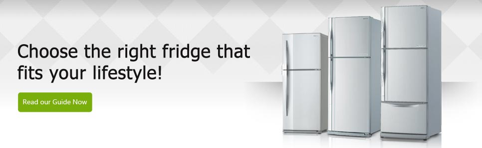 Choose the right fridge that fits your lifestyle!