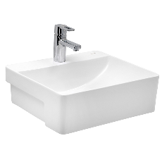 Cera Colga S2030132 Semi Recessed Wash Basin
