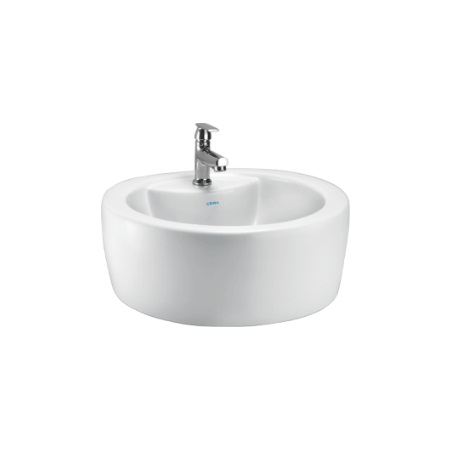 cera coupe table top wash basin price specification