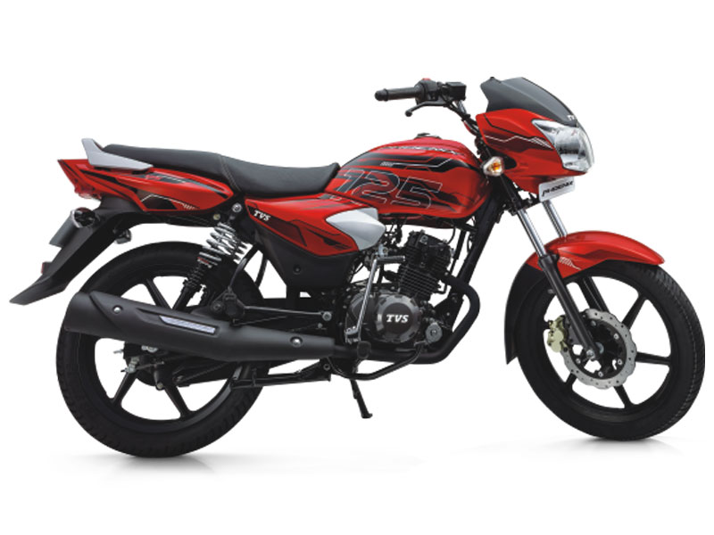 tvs standard bikes price 2017  latest models