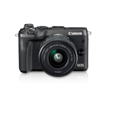 Canon EOS M6 Kit EF M15 45 IS STM Mirrorless Camera