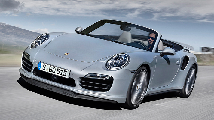 porsche 911 turbo cabriolet car