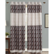 Dekor World DWCT 1155 Eyelet Window Curtain