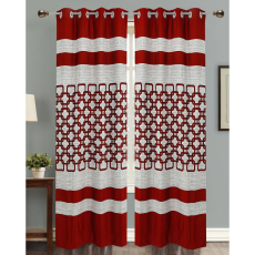 Dekor World DWCT 1163 Eyelet Window Curtain