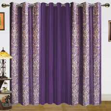 Dekor World DWCT 777 Eyelet Window Curtain