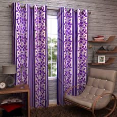 Enfin Homes ABBH0315068W Eyelet Window Curtain