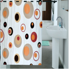Enfin Homes ENF13C244 Shower Bathroom Curtain