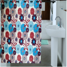 Enfin Homes ENF13C245 Shower Bathroom Curtain