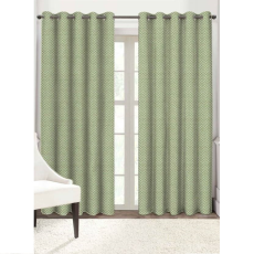 Solaj DCT0005 Eyelet Door Curtain
