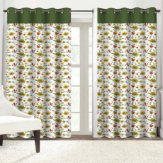 Solaj SLJDCT0036 Eyelet Door Curtain