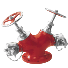 NewAGe LV DOT 02 Double Headed Hydrant Valve Fire Hydrant System