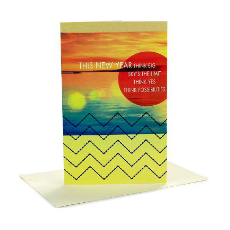 Archies Affirmative New Year Greeting Card