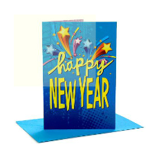 Archies Alluring New Year Greeting Card