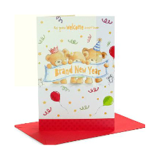 Archies Brand New Year Greeting Card