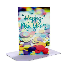 Archies Delightful New Year Greeting Card