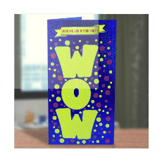 Archies Have A Wow New Year Greeting Card