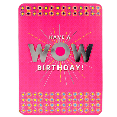 Archies WOW BDY02247 Birthday Greeting Card