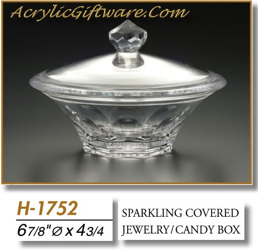 Acrylic Box Bangalore : Sparkling covered candy box acrylic gifts price