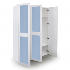 Alex Daisy French 3 Door Wardrobe