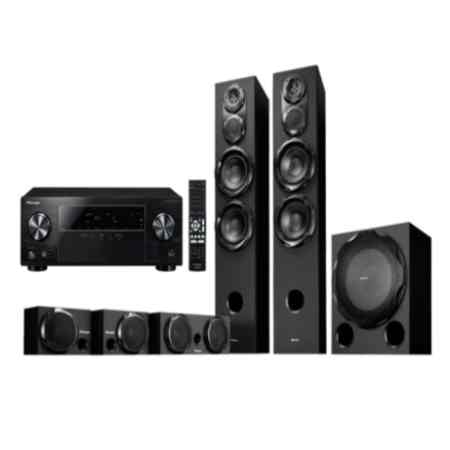 pioneer htp rs33 5 1 dvd home theater price specification. Black Bedroom Furniture Sets. Home Design Ideas