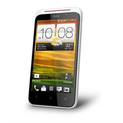 htc desire xc gsm cdma mobile phone are talking
