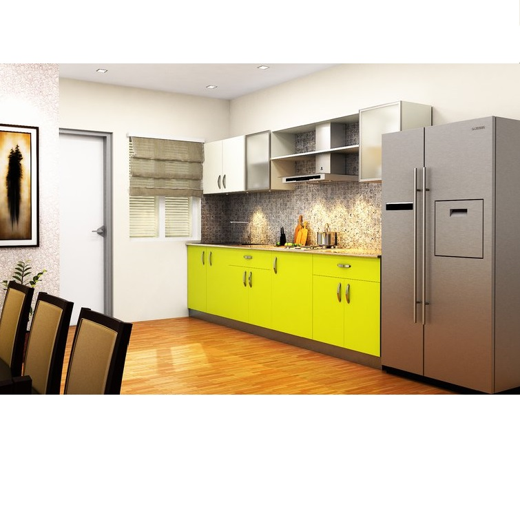 HomeLane Robin Compact Straight Kitchen