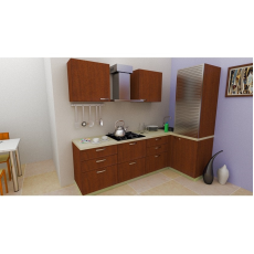 Krios PENGUIN PLUTO L Shaped Kitchen