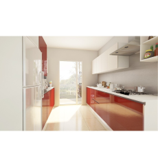 Livspace Addison Parallel Kitchen