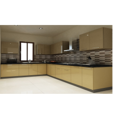 Urbanhomez CBL 102 L Shaped Kitchen