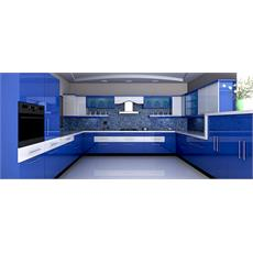 Royal Blue Indian Parallel Kitchen Price Specification