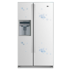 haier hrf 663ita2wf 601l side by side refrigerator price specification features haier. Black Bedroom Furniture Sets. Home Design Ideas